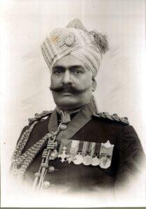 Colonel Sardar Bahadur Muzzaffar Jung Bahadur Thakur Girdhari Singh, O.B.E, O.B.I.