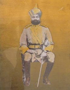 Captain Thakur Nirpat Singh Ji, 2nd Gwalior Mounted Infantry