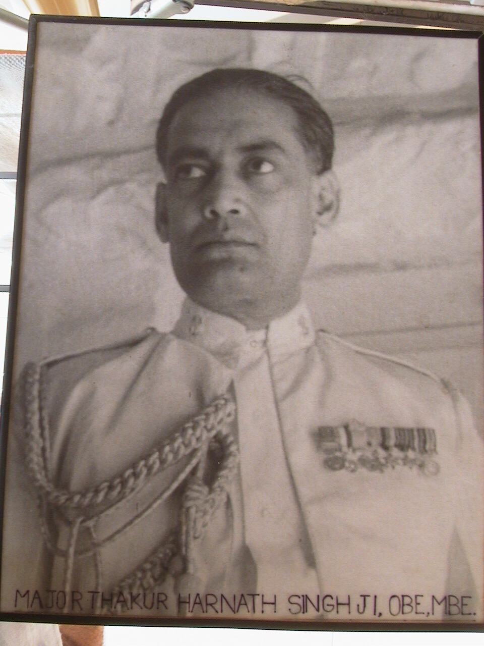 Major. Th. Harnath Singh, O.B.E.,O.B.I.