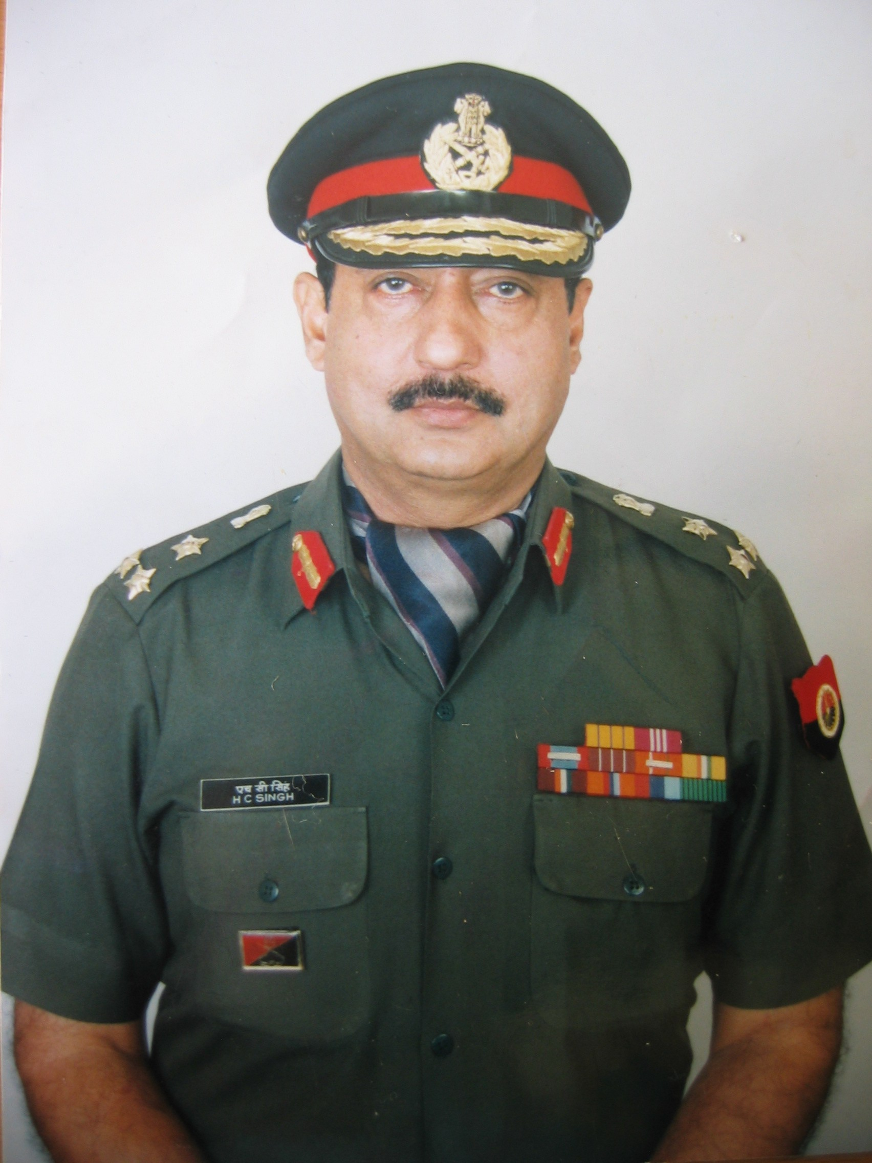 Brigadier. Th. Harish Chandra Singh,V.S.M.